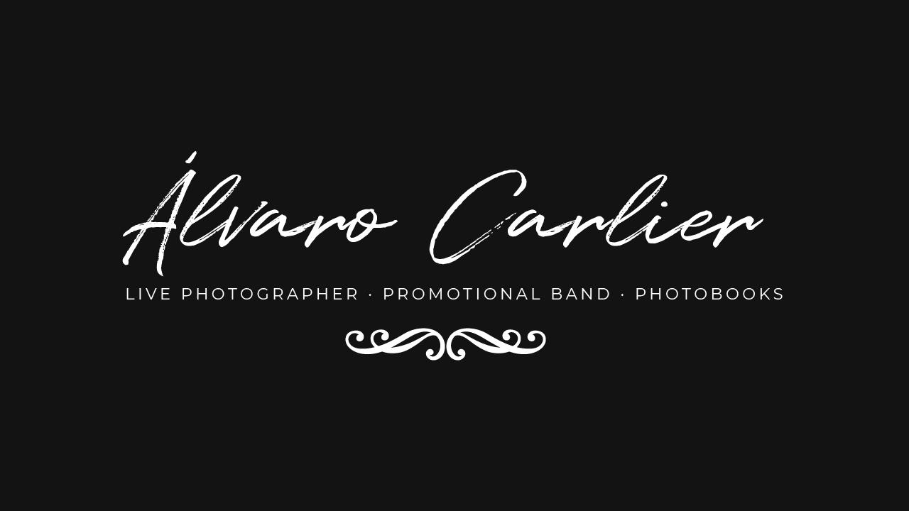 Álvaro Carlier ׀ Fotógrafo