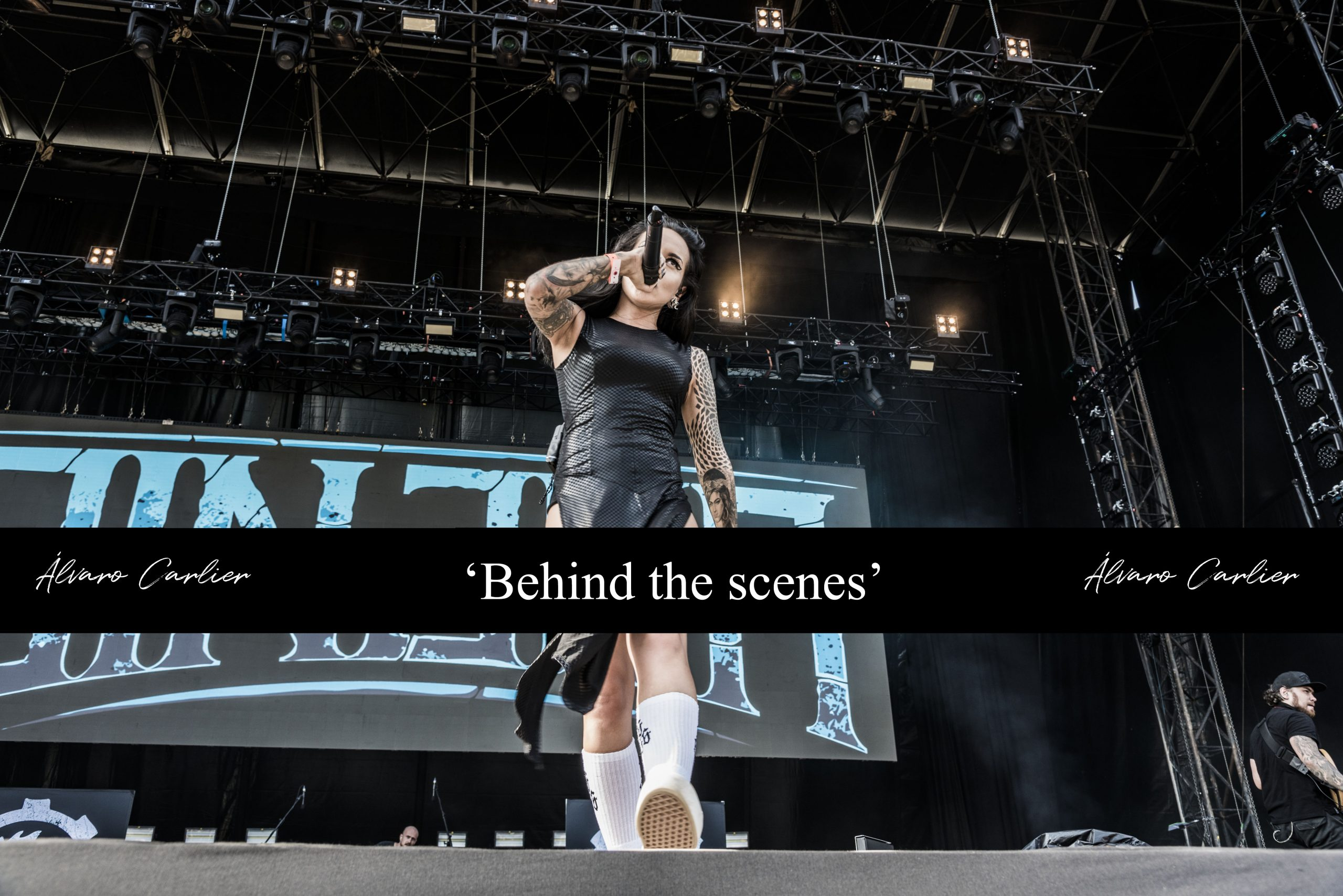 'Behind the scenes'